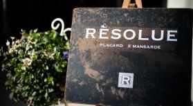 「Resolue」。。。フランス語で毅然とするという意味。。。過度な情報などに左右されず、揺るぎない真に上質でよいものをゆっくりと集めていくお店です。。。