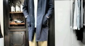 『susuri』より 素敵なコート、パンツ、シャツの入荷でしたが、売れてしまった商品もあります。。 でもご紹介したいと思います。。 ダンケルクフードコートはゆったりとした見ごろに細めでやや前に振ったラグランスリーブで カ […]